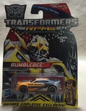 Hasbro Employee-Exclusive 2009 Bumblebee RPM on eBay
