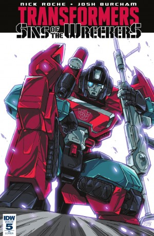 IDW Transformers: Sins of the Wreckers #5 Review #SinsOfTheWreckers