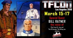 Transformers News: TFcon USA 2019 Guest Update - Bill Ratner