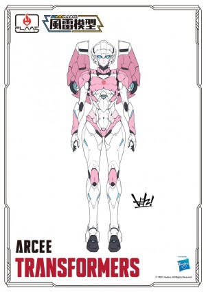 Flame Toys Reveal Coloured Images of Furai Models Arcee