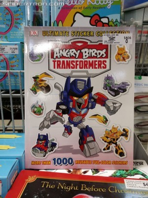 Transformers News: Angry Birds Transformers Sticker Book