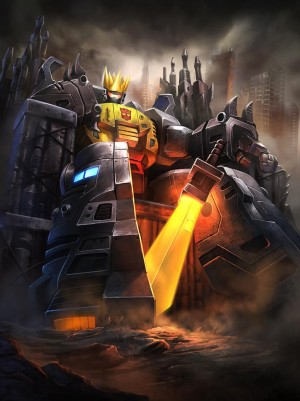 Transformers News: Transformers: Legends Mobile Game New Team Battle Event - Exclusive Grimlock Art