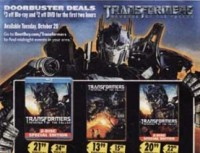 Transformers News: ROTF to Receive Midnight Release at Best Buy