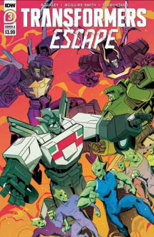 5 Page Preview of IDW Transformers: Escape Issue #3