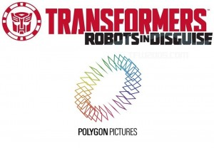 Polygon Pictures Involved in Transformers: Robots in Disguise Series