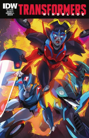 IDW Transformers: Windblade #5 Full Preview
