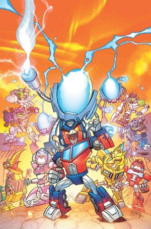 Transformers News: SDCC 2014 Coverage - ANGRY BIRDS TRANSFORMERS BRINGS MAYHEM TO COMICS