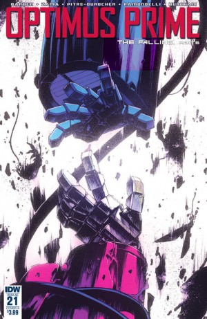 Transformers News: Full Preview for IDW Transformers Optimus Prime #21