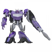Transformers News: Video Review: Transformers Beast Hunters Cyberverse Commander Shockwave