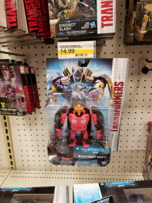 Transformers: The Last Knight Toys All Spark Tech Drift, Barricade, and Hound Spotted at US Retail
