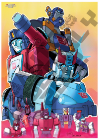 Transformers News: Auto Assembly 2012 Litho - Second Artwork Unveiled