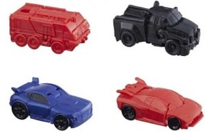 Images of Transformers Tiny Turbo Changers Series 3 With Evac, Sentinel Prime, Dino and More!