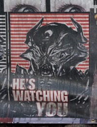 Transformers News: New video and gallery of Propaganda Posters from set of Transformers 4 in Chicago