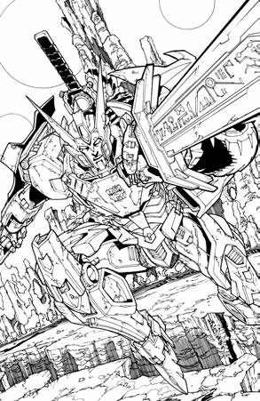 IDW Transformers Drift: Empire of Stone - Further Information