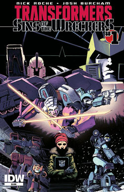 Transformers News: IDW Sins of the Wreckers Named to Big Bang's Top 50 Bestsellers of 2016, Up for ICN Awards