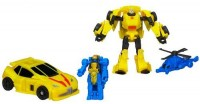 Transformers News: Video Review: Transformers Generations Legends Class Bumblebee with Blazemaster