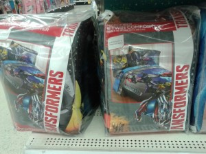 Transformers News: Age of Extinction Product Sightings: Backpacks, Blankets, Mega One-Step Bumblebee Discussion Thread