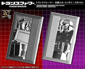 Transformers News: Kotobukiya Transformers 30th Anniversary Business Card Holders
