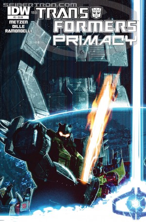 Transformers News: Sneak Peek - IDW Transformers: Primacy #2