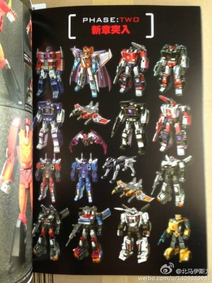 Transformers Masterpiece Official Guide New Images