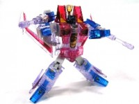 Transformers News: Images of Gentei Ghost Starscream - Robot Mode