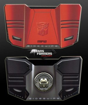 Transformers News: Transformers Masterpiece MP12 Sideswipe Reissue Collector Coin