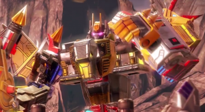 Transformers News: Transformers: Earth Wars Predaking vs. Volcanicus