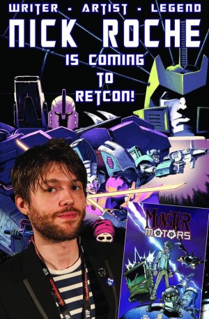 Transformers News: Retcon 2016 Update: Nick Roche to Attend