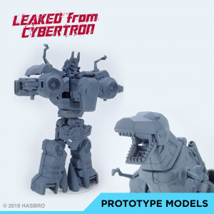 'Leaked from Cybertron' Images of Power of the Primes Grimlock and Volcanicus