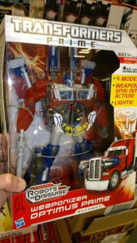 Transformers News: Transformers Prime Weaponizers Released In Australia