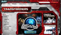 Transformers News: Transformers.com Has Transformed! New Site Design