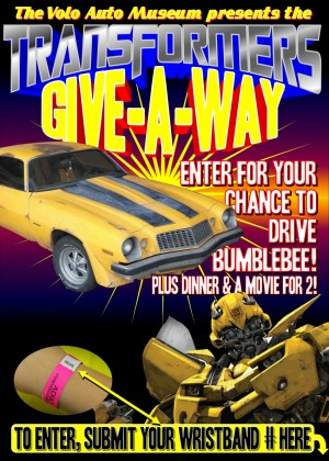 Transformers News: Volo Auto Museum Transformers Sweepstakes - Age of Extinction Competition