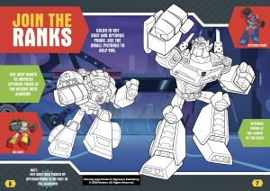 Hasbro Offers Free Printable Rescue Bots Academy Coloring Sheet for Kids