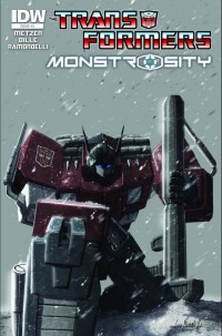 Transformers News: Transformers: Monstrosity #5 Cover Art Revealed