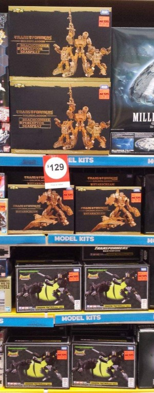 Transformers News: Golden Lagoon Sets Sighted In Australia