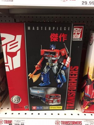 Transformers News: Hasbro Transformers Masterpiece MP-10 Optimus Prime Sighted at US Retail