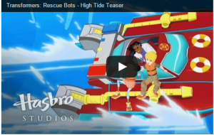 Transformers Rescue Bots Character High Tide Debut Promo