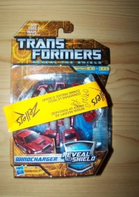 Transformers News: Reveal The Shield Windcharger and Chopsaw Sighted In Quebec