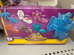 New Cyberverse Tiny Turbo Changers Series Found in Canada with Thunderhowl, Kup, Strika and More