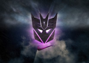 "Transformers News: ""Megatron Rises"" Nike Air CJ81 Trainer and Action Figure - Press Release"