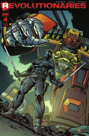 Review of IDW Revolutionaries #4
