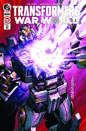IDW Transformers #26 Review
