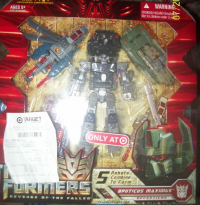 Transformers ROTF Target Exclusive Bruticus Maximus Found At Retail