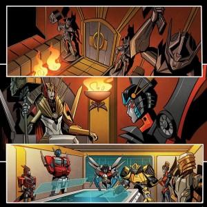 Sneak Peek - IDW Transformers: Windblade #6 Page Art Process