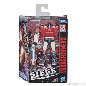 New Packaging Image for Transformers War for Cybertron: Siege Sideswipe