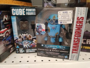 Transformers News: Steal of a Deal: Robots In Disguise 3 Step Changers and Transformers Last Knight Allspark Tech On Sale at Ross, AllSpark Sqweeks Finally Found at Retail