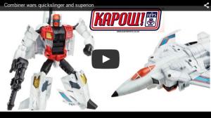 Transformers News: Combiner Wars Quickslinger And Brake-Neck Video Reviews