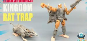 New Video Review of Possible Transformers Kingdom Core Class Rattrap