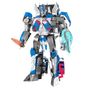 Transformers News: Metal Earth IconX Optimus Prime Revealed