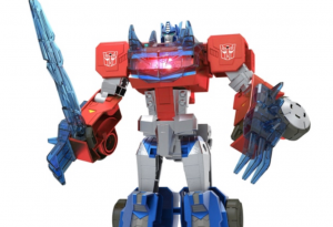 First Look at Transformers Cyberverse Roll and Change Optimus Prime and Bumblebee